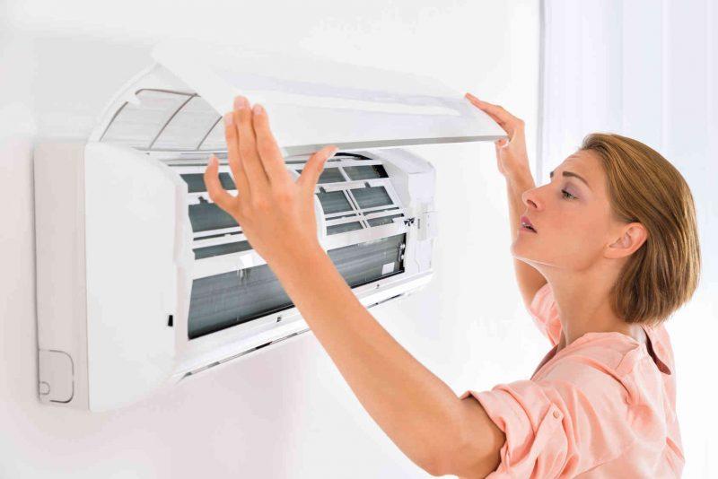 czyszczenie filtrów klimatyzatora